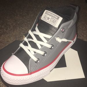 Boys high top converse